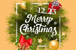 クリスマスパーティのお知らせ